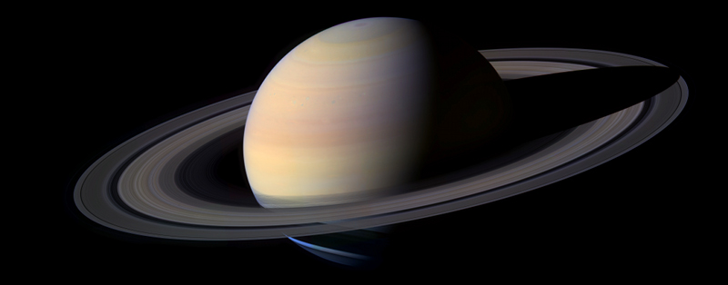 Der Saturn (Copyright: NASA).