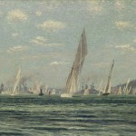 Regatta auf der Kieler Woche 1903 / Stoltenberg (Bild: hfr).